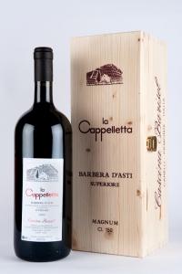 """BARBERA D'ASTI SUP. """"LA CAPPELLETTA"""" 2009 MAGNUM 1,50 LT"""